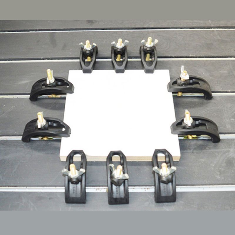 5pcs/set Bow Plate Sets CNC Engraving Machine Parts Pressure Plate Clamp Fixture For T-slot Working Table
