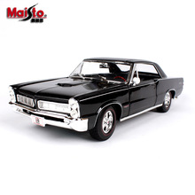 Maisto 1:18 1965 Pontiac GTO  car alloy model simulation decoration collection gift toy Die casting boy