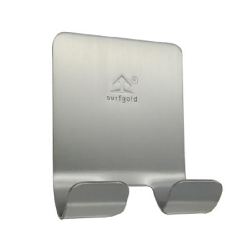1PC Stainless Steel Self Adhesive Razor Holder Hooks Waterproof Multifunctional Wall Hooks For Home