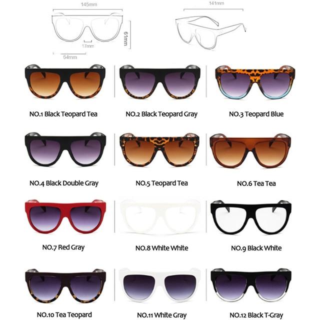 LeonLion Retro Sunglasses Women 2019 Vintage Glasses For Women Big Sunglasses Women Luxury Brand Mirror Oculos De Sol Feminino 4