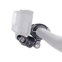 Алюминиевый вращающийся держатель для велосипеда крепление на руль для GoPro Hero 9 8 7 6 5 4 Yi 4K Sjcam Sj8 Eken H9 аксессуары для экшн камеры