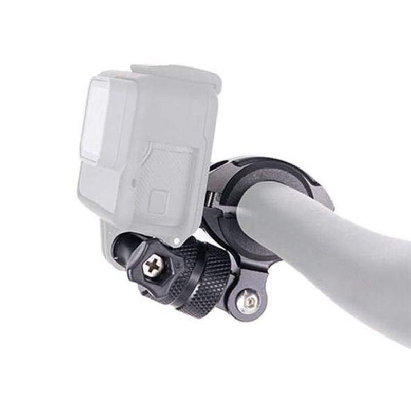 Aluminum Rotation Bike Bicycle Holder Handlebar Mount For GoPro Hero 8 7 6 5 4 Yi 4K Sjcam Sj8 Eken H9r Action Camera Accessory