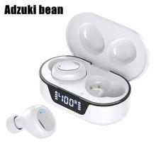 2021 venda quente sem fio bluetooth fone de ouvido 3d estéreo esporte handfree com caixa carregamento portátil fones música