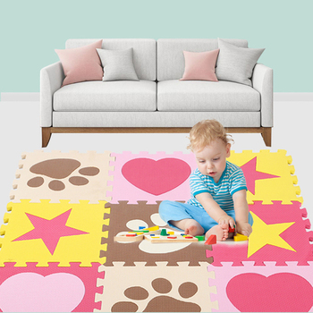 9Pcs/set EVA Foam Baby Play Mat Stitching Crawling Rug Kid Kruipen Mat Assembled Animal Carpet Puzzle Pad For Children Games children s soft eva puzzle mat baby play carpet puzzle animal letter cartoon eva foam play mat pad floor for kids games rugs sgs