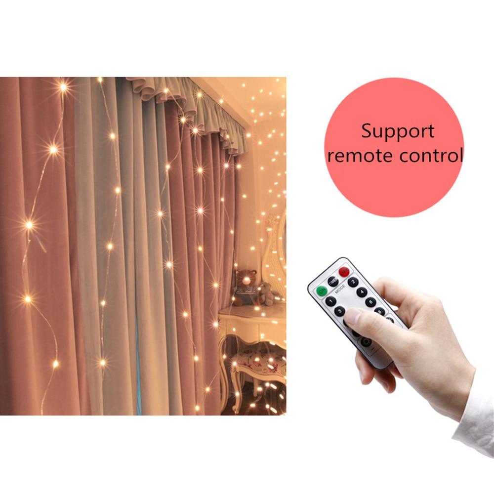 Decorațiuni de Crăciun pentru casă 3m 100/200/300 bliț cu LED - Produse pentru sărbători și petreceri - Fotografie 5