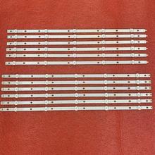 12 PCS LED backlight strip for 55PUS6503 55PUS7503 55PUS6162 55PUS6262 55PUS6753 55PUS7303 55PUS6703 LB55073 TPT550U1 QVN05.U