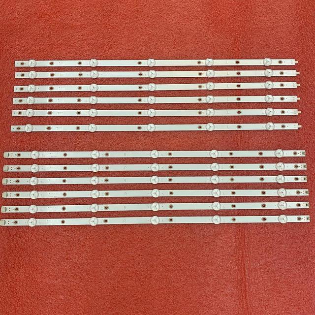 12 個 led バックライトストリップ 55PUS6503 55PUS7503 55PUS6162 55PUS6262 55PUS6753 55PUS7303 55PUS6703 LB55073 TPT550U1 QVN05.U