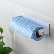 Клей Кухня ПОЛОТЕНЦЕДЕРЖАТЕЛЬ для ванной комнаты рулон Бумага держатель для кухонных приборов Полка для полотенец дома подставки-держатели