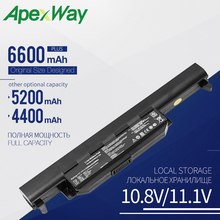 Buy Apexway Laptop battery FOR Asus X75A X75V X75VD X45VD X45V X45U X45C X45A U57VM U57A X55U X55C X55A A32-K55 X55V X55VD 6 Cells directly from merchant!