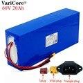 Батарея для электровелосипеда 60В 20ач 18650 литий-ионная аккумуляторная батарея 20000 мАч Набор для преобразования велосипеда bafang 1000 Вт BMS защита...