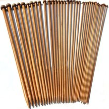 alterna bamboo smooth набор bamboo smooth набор 36Pcs/Set Carbonized Bamboo Crochet 2-10mm Single Pointed Smooth Knitting Needles for Scarf Sweater Knitting Tools