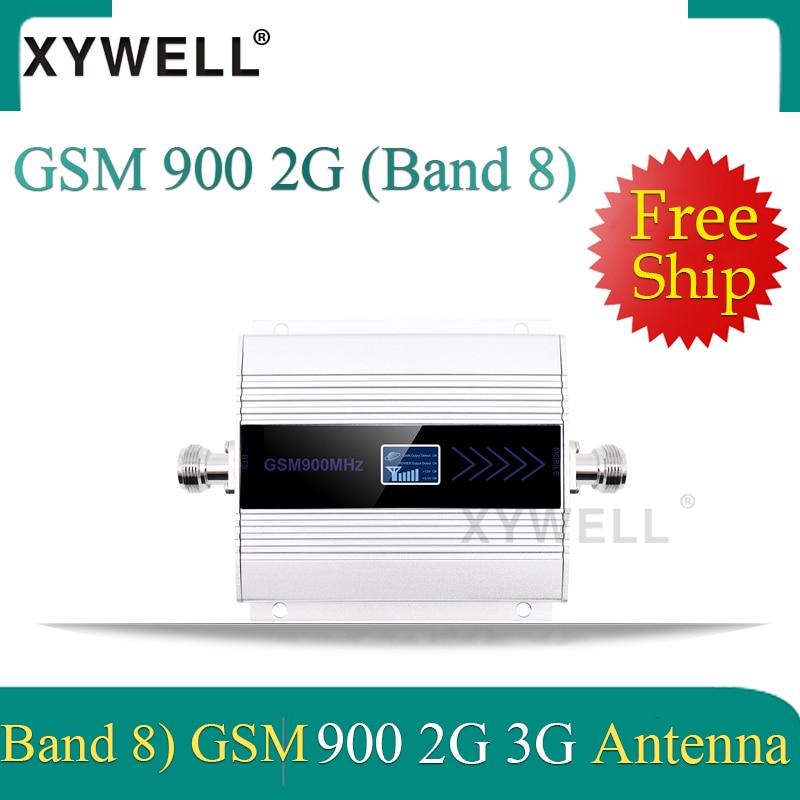 1PCS 2G 900 Gsm Signal Booster UMTS 900 3g Signal Booster 2G GSM 900 MHz Cellular Signal Repeater Amplifier 2g 3g Antenna
