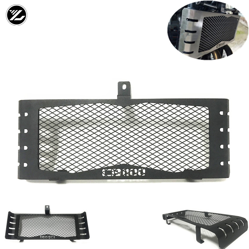 For <font><b>HONDA</b></font> CB <font><b>1100</b></font> 2013-2017 2016 2015 CB1100 <font><b>Motorcycle</b></font> Radiator Guard Oil Cooler Radiator Grille Grill Cover Protector image