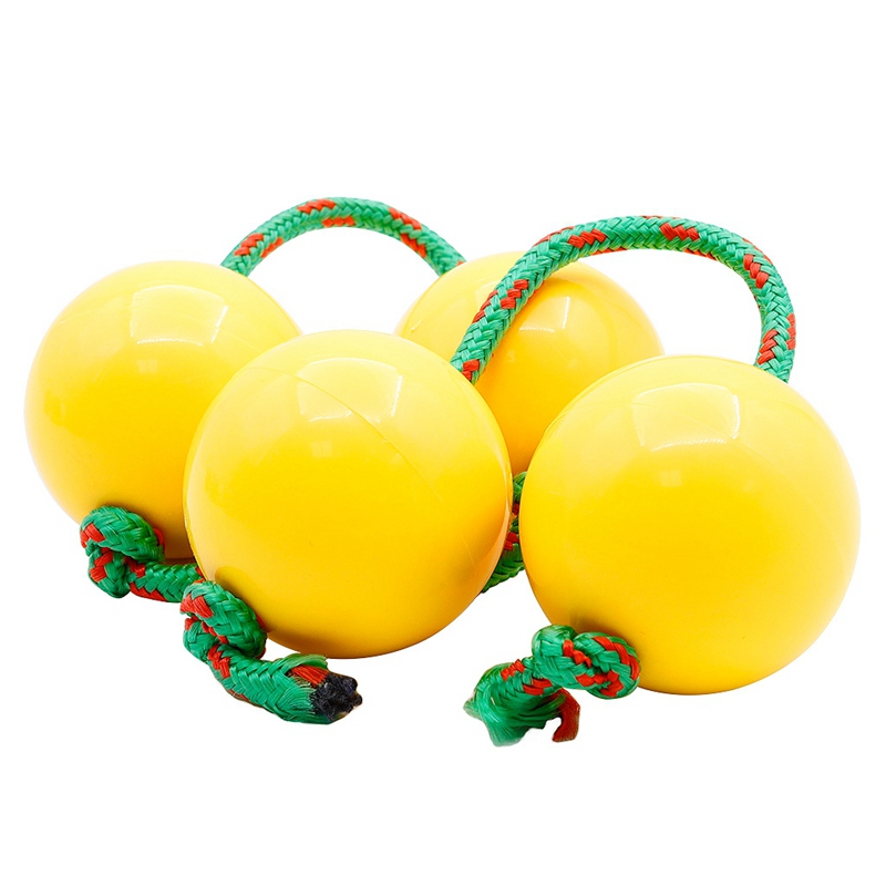 2Pcs Plastic Sand Hammer Maracas Egg Baby Child Toy Orff Early Educational Musical Toys Random Color