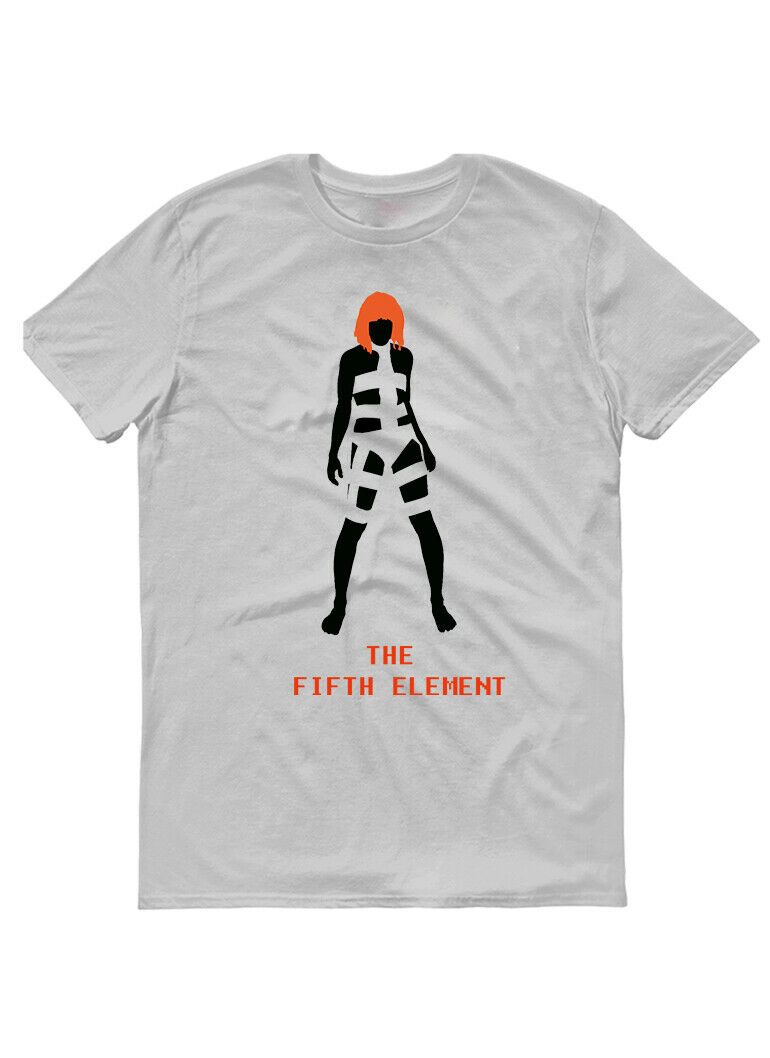 Fifth Element,1997,Old Movie, ,Fantasy,Mens T-Shirt, G0362 Unisex Size S-3Xl