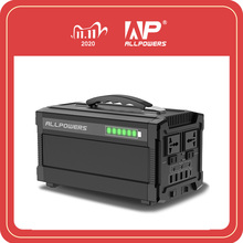 ALLPOWERS 220V Power Bank 78000mAh Portable Generator Power Station AC DC USB Type C Multiple Output Power Battery