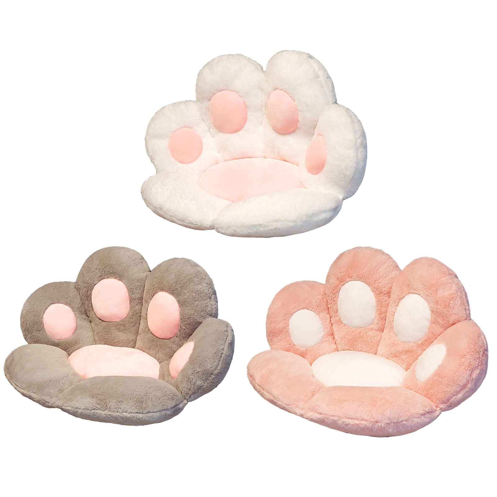 High Quality Cat Claw Seat Cushion for Adults Kids Lazy Sofa Warm Skin-friendly Floor Mat Good for Health Gift