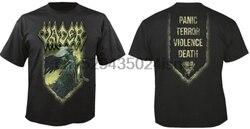 VADER-Teu Mensageiro T-Shirt Novo TERROR PÂNICO Limitada Oficial VIOLÊNCIA MORTE