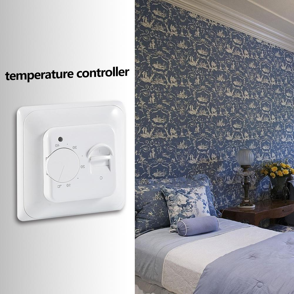 Electric Water Floor Heating Room Thermostat Warm Floor Cable Sensor Probe Ordinary Design Operation Conveninently