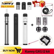 Original Kamry GXG I2 Heizung Stick Vape1900mAh Kit Trockenen Kraut Verdampfer Elektronische Zigarette Kit VS 2,0 Plus minifit icos kit