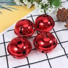 Cloches de noël étoiles à cinq points, Mini cloches de noël créatives et brillantes, faites à la main, 5cm, 10 pièces, A35