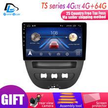 Android 9,0 автомобильная система ips сенсорный экран стерео для ≥get 107 Toyota Aygo Citroen C1 2005-2013 лет стерео