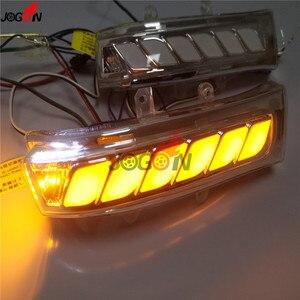 Image 2 - Toyota Sienna Highlander RAV4 Previa Alphard Noah 07 13 다이나믹 턴 시그널 라이트 LED 사이드 미러 순차 표시 등