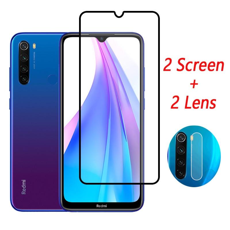 Full Cover Tempered Glass For Redmi Note 8T Screen Protector For Redmi Note 8T 8 T Camera Glass For Xiaomi Redmi Note 8T Glass(China)