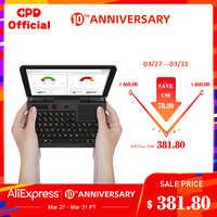 GPD Micro PC 6 pouces Intel Celeron N4100 Windows 10 Pro 8 go RAM 128 go ROM poche Mini ordinateur portable ordinateur portable ordinateur portable