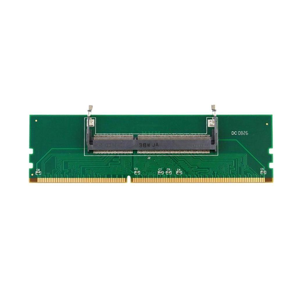 DDR3 New adapter of laptop Internal Memory to Desktop Memory 1.5V to RAM SO-DIMM Adapter Connector DIMM RAM Desktop W6D4