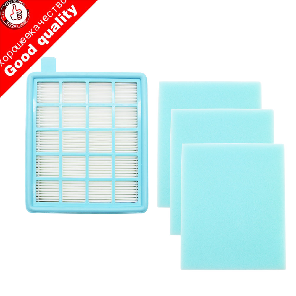 4pcs/lot Filter Mesh HEPA FILTER BUFFALO-MISTRAL For Philips Vacuum Cleaner FC8630 FC8631 FC8632 FC8633 FC8634 FC8635 FC8645