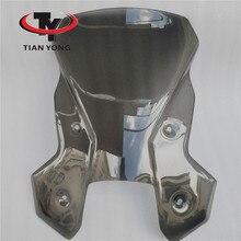 Fumo Nero Accessori Moto Per KTM 1190 1090 ADVENTUER Parabrezza Innalzamento Vento Deflectore sollevare Parabrezza Spoiler