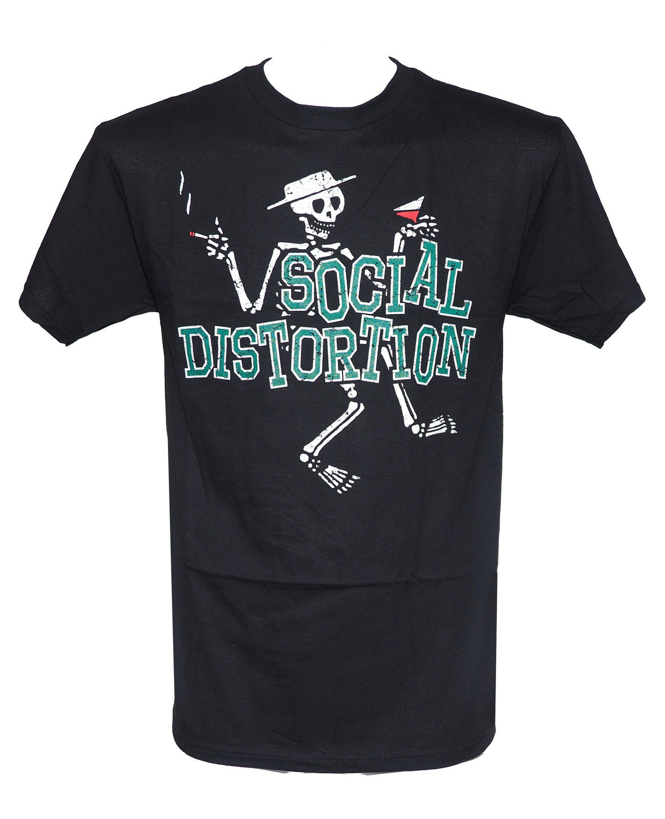 SOCIAL DISTORTION PUNK ROCK BAND LOGO MEN/'S WHITE T-SHIRT SIZE S M L XL 2XL 3XL