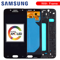 Original 5.5'' AMOLED Display for SAMSUNG Galaxy J7 Pro J730 LCD For SAMSUNG J7 2017 Display Touch Screen Digitizer J730F|Mobile Phone LCD Screens|Cellphones & Telecommunications -