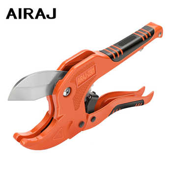 AIRAJ PVC Cutter Ratchet-type Pipe Cutter for Cutting PVC PPR Plastic Hoses and Plumbing Pipes Up to 1-1/4 inches tube cutter - DISCOUNT ITEM  49% OFF All Category