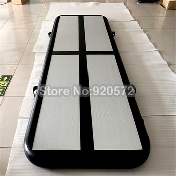 Free Shipping Free One Pump 3x1x0.2m Inflatable Air Gym Track Tumbling Mat, DWF Material Air Track/Inflatable Airtrack