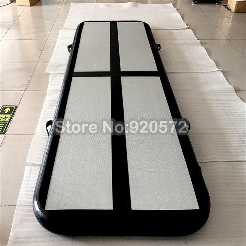 Livraison gratuite une pompe 3x1x0.2m gonflable Air Gym piste Tumbling Mat, DWF matériel Air piste/gonflable Airtrack