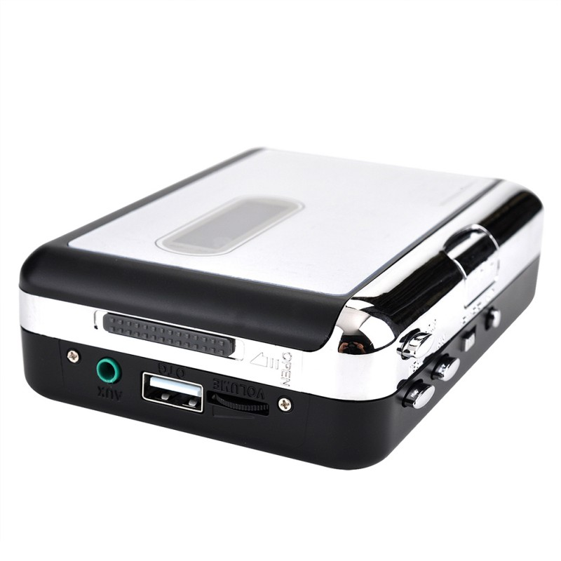 Cassette Player Tape To MP3 Converter Autoreverse Function Recorder Convert Tapes Into USB Flash Drive