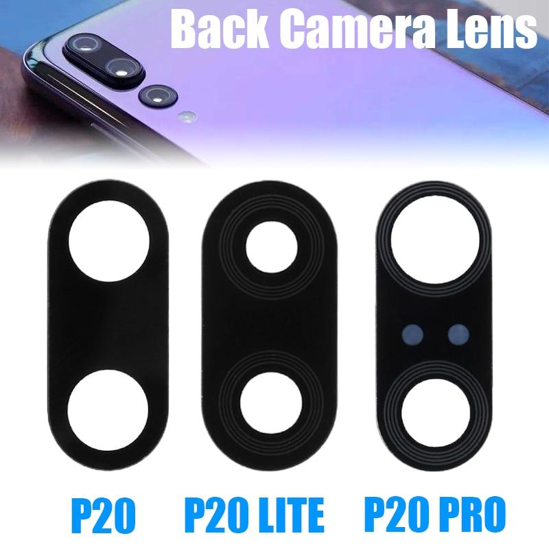 Запасная часть для задней камеры, стеклянная линза для huawei Ascend P20 Lite P20 Pro, клейкая наклейка, запасная часть для huawei P20