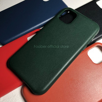 Official original Genuine Leather Case for iPhone 11 Pro Max Luxury high end phone case for iPhone 11 Pro