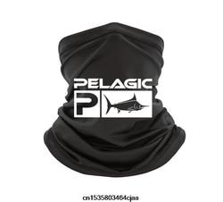 Pelágico pesca aquática bandana preto tamanho s 3xl bandana lenço pescoço mais quente feminino