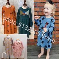 IN STOCK 2019 Autumn and Winter New BC kids Series Girls Cotton Dress Toddler Christmas Dress girls plaid dress toddler dresses