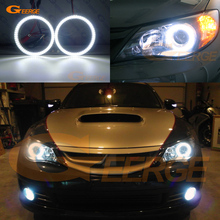 цена на For Subaru Impreza WRX STI 2007-2011 Excellent led Angel Eyes Ultrabright illumination smd led Angel Eyes Halo Ring kit