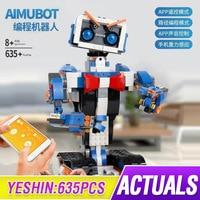 Idea intelligent programming robot Boost Ev3 WALL E Toys Model Building set Self Locking Bricks Blocks Educational toys 17101