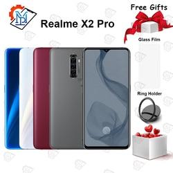 Перейти на Алиэкспресс и купить original realme x2 pro mobile phone 6.5 inch 90hz fluid screen 12gb+256gb snapdragon 855 plus camera 64.0mp nfc smartphone