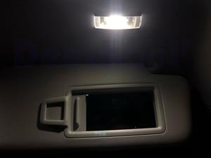 Image 5 - بيضاء نقية سيارة خالية من الخطأ LED لمبات لفولكس واجن فولكس فاجن جولف 2 3 4 5 6 7 MK2 MK3 MK4 MK5 MK6 M7 الداخلية خريطة مصباح سقف عدة