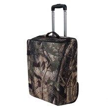 Оксфордская Складная Лампа, Мужская Дорожная сумка для багажа на колесиках, 20 дюймов, Женская Роскошная сумка на колесиках, большой чемодан для переноски, модный багаж