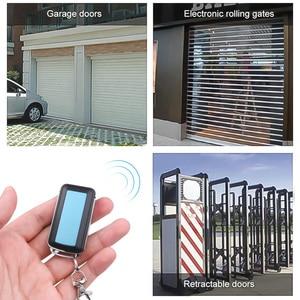 Image 5 - KEBIDU 4 Channel Remote Control Copy Code Remote Wireless 433Mhz Electric Cloning Gate Garage Door Auto Remote Control Universal