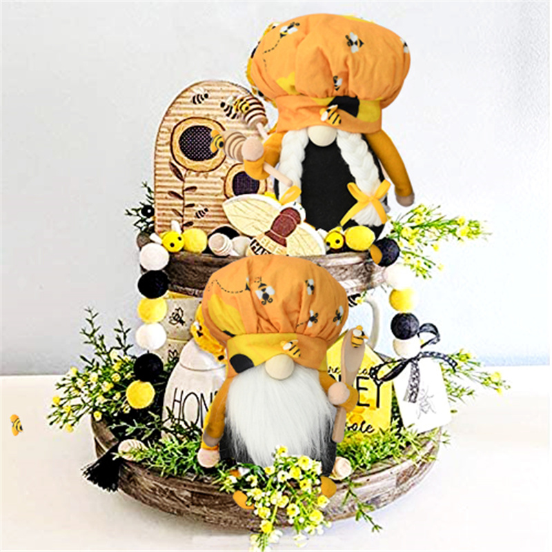 Лидер продаж Шмель шеф-повара гном скандинавский томте ниссе медовый пчелиный эльф домашний фермерский кухонный Декор
