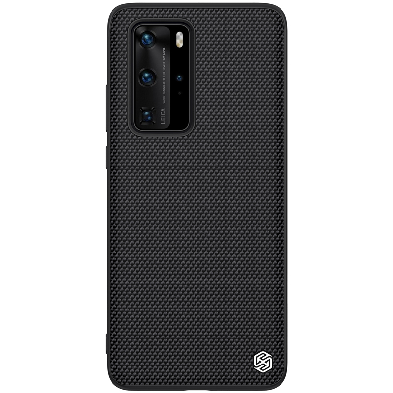 Case For Huawei P40 Cover Huawei P40 Pro Textured Nylon Fiber Case Huawei P40 Back Cover Durable Non-Slip Thin And Light